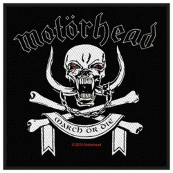 Motörhead March Or Die Aufnäher   2448