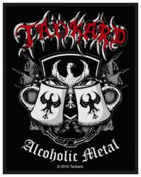 Tankard Alcoholic Metal Aufnäher | 2466