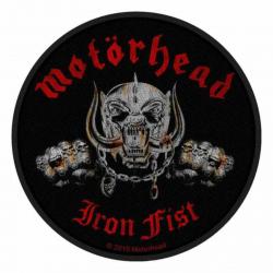 Motörhead Iron Fist Aufnäher   2486