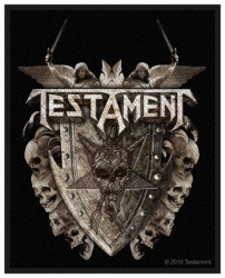 Testament Shield Aufnäher | 2504