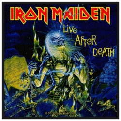Iron Maiden Live After Death Aufnäher | 2526