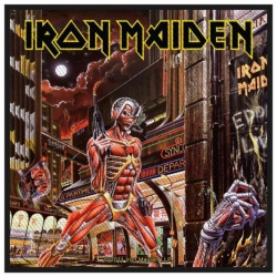 Iron Maiden Somewhere In Time Aufnäher | 2527