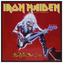 Iron Maiden Fear Of The Dark Aufnäher | 2531