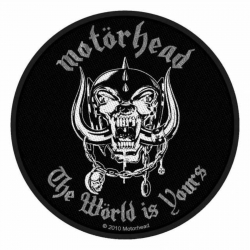 Motörhead The Wörld Is Your Aufnäher | 2553