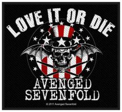 Avenged Sevenfold Love It Or Di Aufnäher | 2586