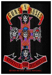 Guns N Roses Appetite For Des Aufnäher | 2622