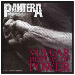 Pantera Vulgar Display Of Pow Aufnäher | 2630