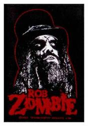 Rob Zombie Portrait Aufnäher   2646