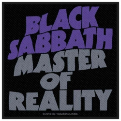 Black Sabbath Master Of Reality Aufnäher | 2708