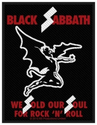 Black Sabbath Sold Our Souls Aufnäher | 2709