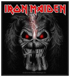 Iron Maiden Eddie Candle Finger Aufnäher | 2712