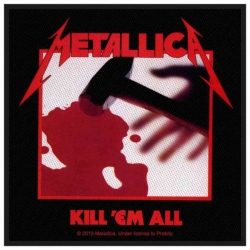 Metallica Kill Em All Aufnäher | 2723