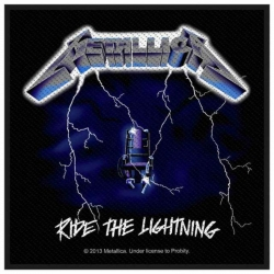Metallica Ride The Lightning Aufnäher | 2724