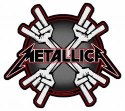 Metallica Metal Horns Aufnäher | 2730