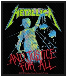 Metallica And Justice For All Aufnäher | 2731