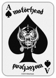 Motorhead Ace Of Spades Card Aufnäher | 2742