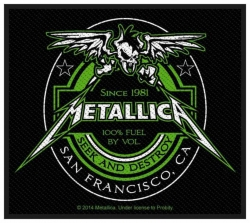 Metallica Beer Label Aufnäher | 2747