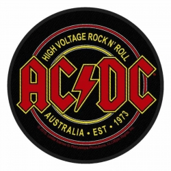 ACDC High Voltage Rock n Roll Aufnäher | 2820
