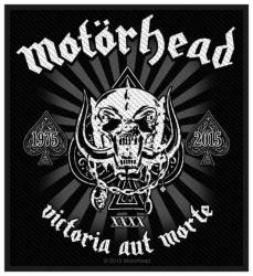 Motörhead Victoria Aut Morte 1975-2015 Aufnäher | 2831
