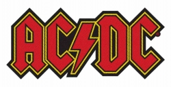 AC/DC Logo Cut-Out Aufnäher | 2832