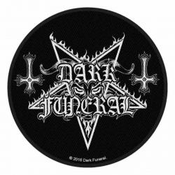 Dark Funeral Circular Logo Aufnäher | 2886