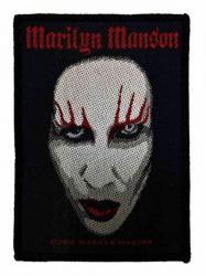 Marilyn Manson Face Aufnäher