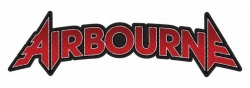 Airbourne Logo Cut-Out Aufnäher