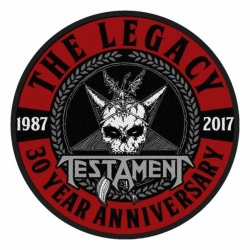 Testament The Legacy 30 Year Anniversary Aufnäher