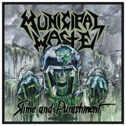 Municipal Waste Slime and Punishment Aufnäher