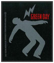 Green Day Lightning Bolt Aufnäher