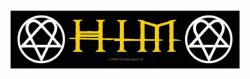 Him Logo Heartagram Superstrip Aufnäher