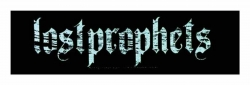Lost Prophets Gothic Logo Superstrip Aufnäher