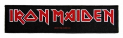 Iron Maiden Logo Superstrip Aufnäher