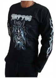 Sweatshirt Totenkopf Tattoo