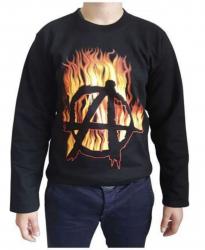 Sweatshirt Brennendes Anarchie