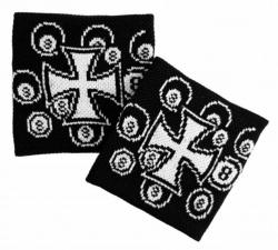 Schweißband Schwarz Eisernes Kreuz