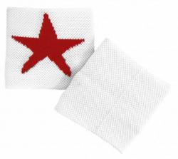 Schweißband Roter Stern
