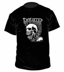 The Exploited - Mohican Skull - T-Shirt