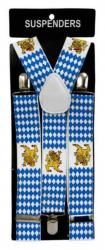 Hosenträger Bayern mit Wappen