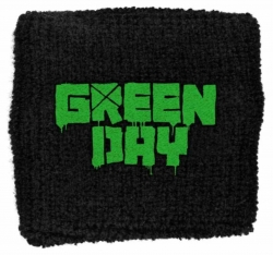Schweißband Green Day Logo